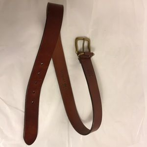 Tommy Hilfiger Brown men's belt size 32